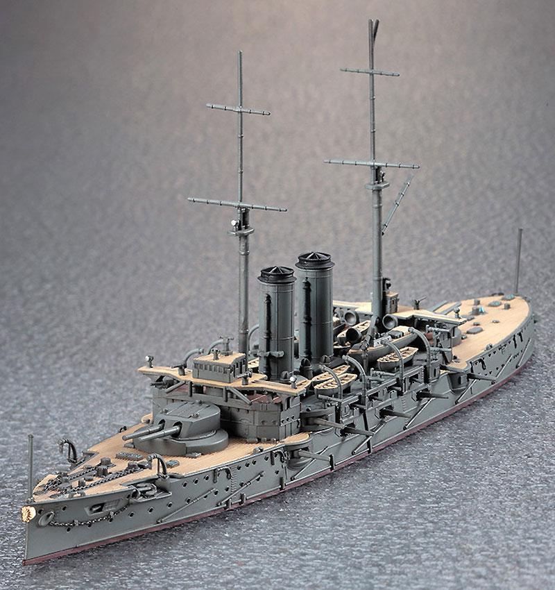 日本戦艦 三笠プラモデル(ハセガワ1/700 ウォーターラインシリーズNo.151)商品画像_4