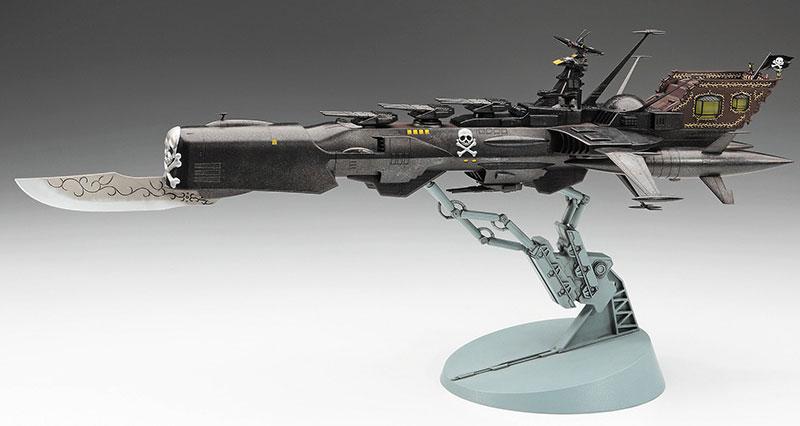 宇宙海賊戦艦 アルカディア 三番艦 [改] 強行型プラモデル(ハセガワクリエイター ワークス シリーズNo.64736)商品画像_3