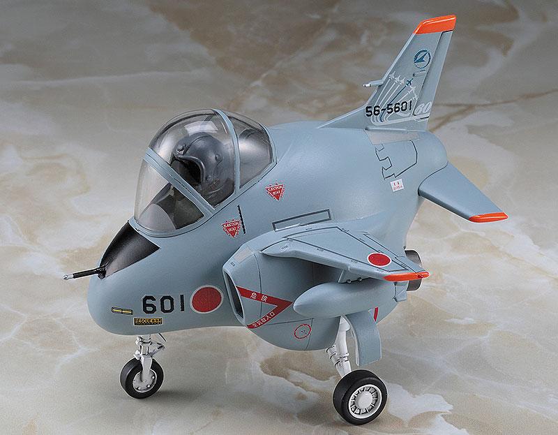 F-2 & T-4 飛行開発実験団 60周年記念 (2機セット)プラモデル(ハセガワたまごひこーき シリーズNo.60513)商品画像_3