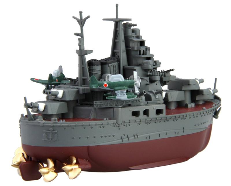 ちび丸艦隊 鳥海プラモデル(フジミちび丸艦隊 シリーズNo.ちび丸-023)商品画像_2