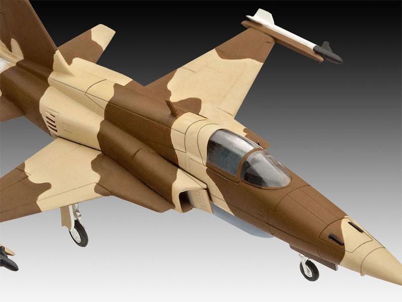 F-5E タイガー 2プラモデル(レベル1/144 飛行機No.03947)商品画像_2