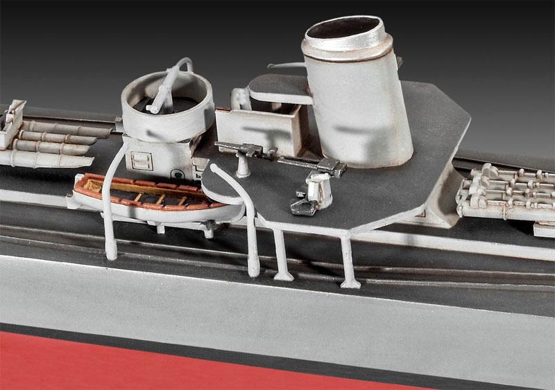 ドイツ駆逐艦 Type1936プラモデル(レベル1/350 艦船モデルNo.05141)商品画像_2