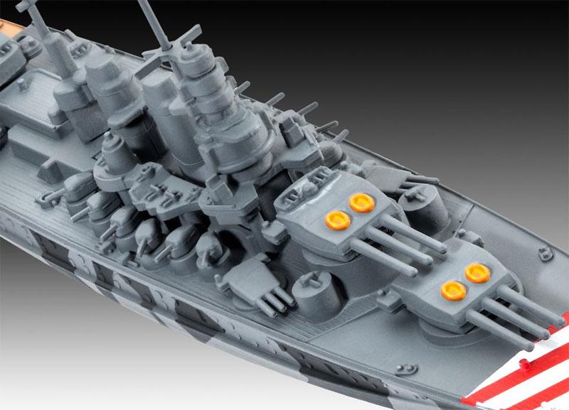 イタリア海軍 戦艦 ローマプラモデル(レベルShips(艦船関係モデル)No.05821)商品画像_2