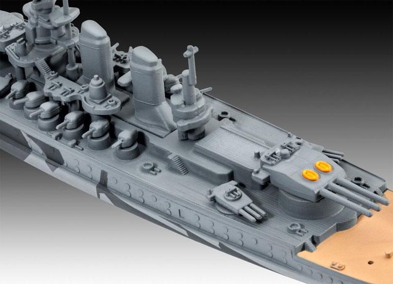 イタリア海軍 戦艦 ローマプラモデル(レベルShips(艦船関係モデル)No.05821)商品画像_3