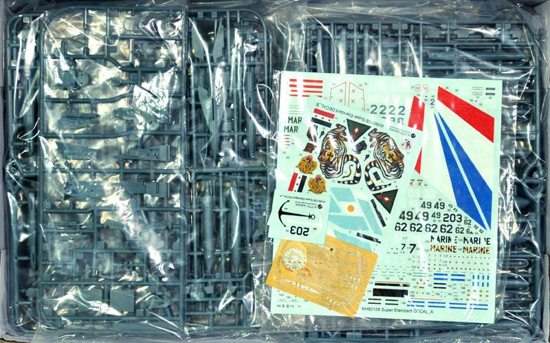 シュペル エタンダールプラモデル(キティホーク1/48 ミリタリーNo.KH80138)商品画像_1