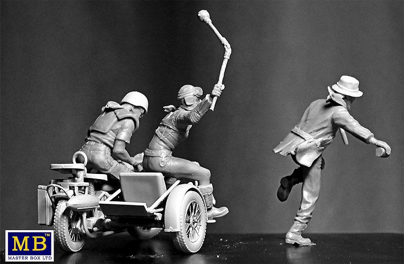 Skull Clan - 盗人を捕らえろ (デザートバトルシリーズ)プラモデル(マスターボックス1/35 ミリタリーミニチュアNo.MB35140)商品画像_2
