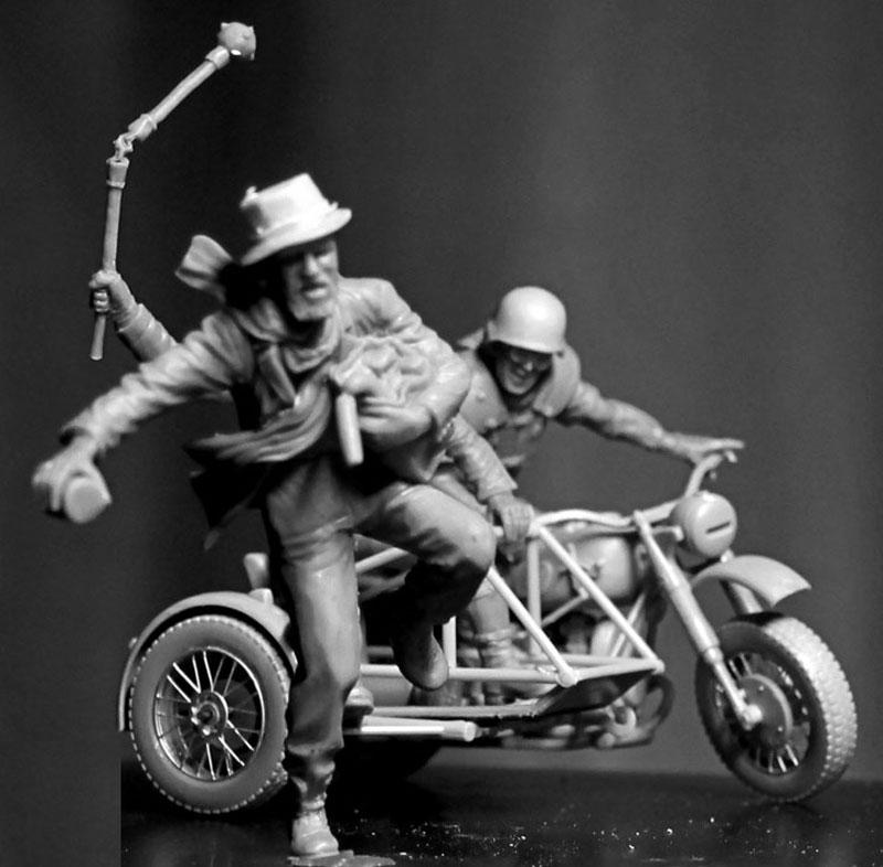 Skull Clan - 盗人を捕らえろ (デザートバトルシリーズ)プラモデル(マスターボックス1/35 ミリタリーミニチュアNo.MB35140)商品画像_3