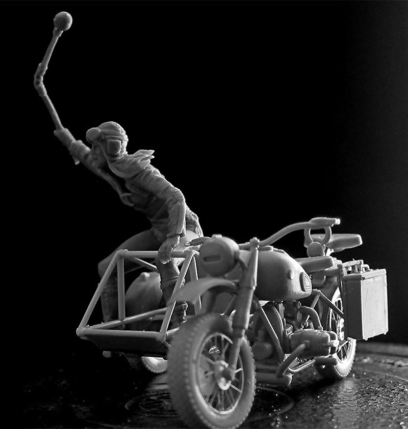 Skull Clan - 盗人を捕らえろ (デザートバトルシリーズ)プラモデル(マスターボックス1/35 ミリタリーミニチュアNo.MB35140)商品画像_4