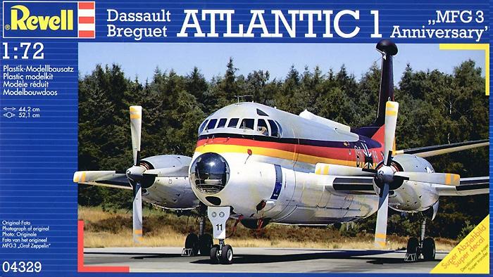 ダッソー プレゲー アトランティック 1 MFG3 Anniversaryプラモデル(レベル1/72 AircraftNo.04329)商品画像