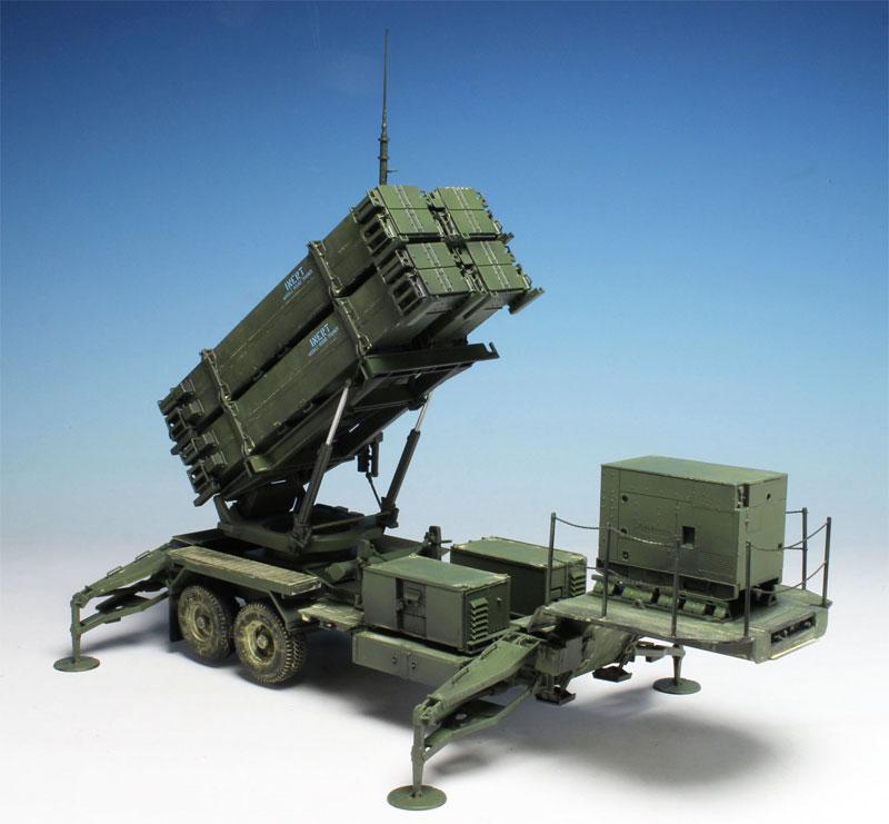 MIM-104F パトリオット SAM PAC-3 M901発射機プラモデル(ドラゴン1/35 BLACK LABELNo.3563)商品画像_2