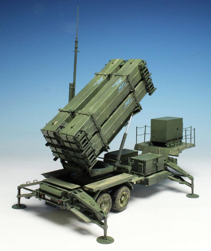 MIM-104F パトリオット SAM PAC-3 M901発射機プラモデル(ドラゴン1/35 BLACK LABELNo.3563)商品画像_3