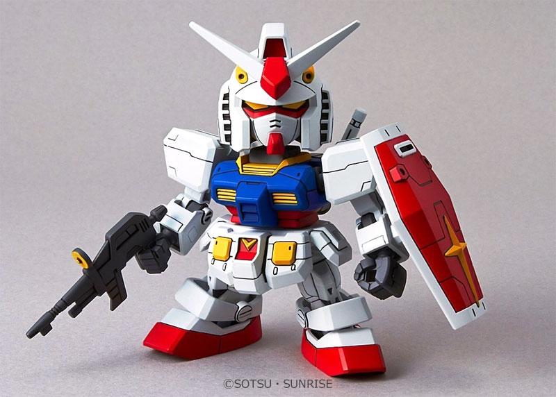 RX-78-2 ガンダムプラモデル(バンダイSDガンダム エクスタンダードNo.001)商品画像_2