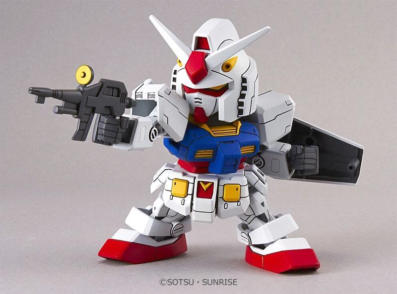 RX-78-2 ガンダムプラモデル(バンダイSDガンダム エクスタンダードNo.001)商品画像_3