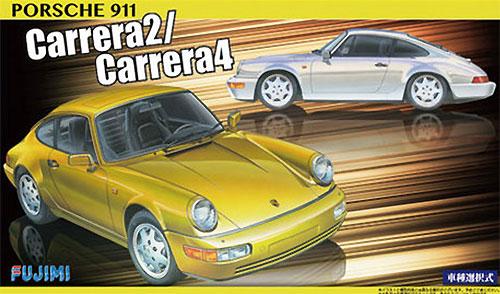 ポルシェ 911 カレラ2/カレラ4 (車種選択式)プラモデル(フジミ1/24 リアルスポーツカー シリーズNo.013)商品画像