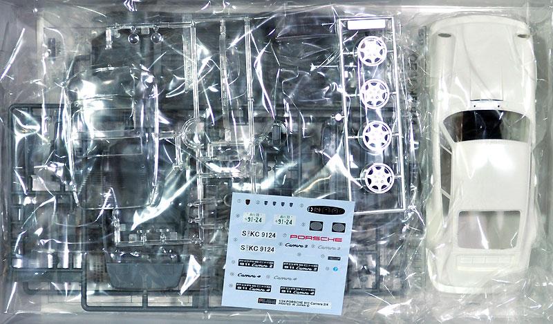 ポルシェ 911 カレラ2/カレラ4 (車種選択式)プラモデル(フジミ1/24 リアルスポーツカー シリーズNo.013)商品画像_1