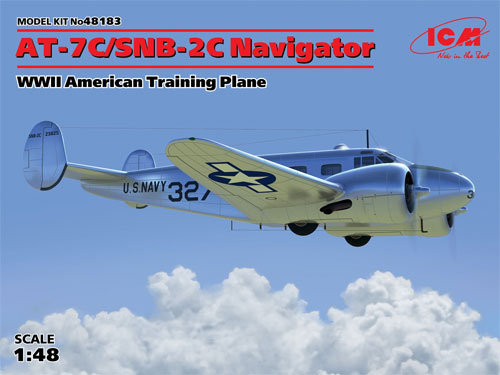 AT-7C/SNB-2C ナビゲータープラモデル(ICM1/48 エアクラフト プラモデルNo.48183)商品画像