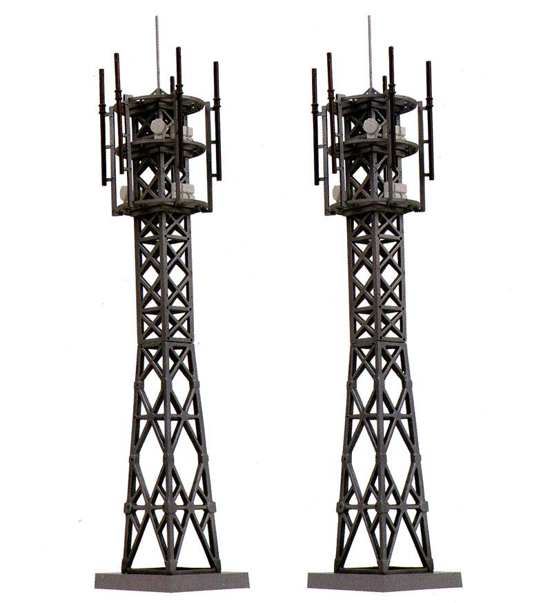 電波塔 B2 - 携帯電話アンテナ -プラモデル(トミーテック情景コレクション 情景小物シリーズNo.102-2)商品画像_1