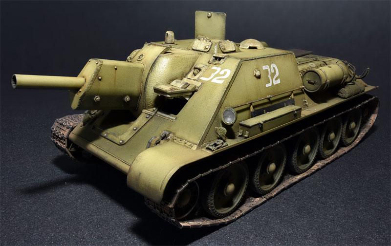 SU-122 極初期生産型 フルインテリアプラモデル(ミニアート1/35 WW2 ミリタリーミニチュアNo.35175)商品画像_2