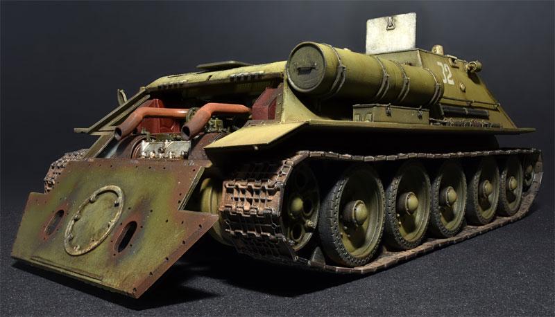 SU-122 極初期生産型 フルインテリアプラモデル(ミニアート1/35 WW2 ミリタリーミニチュアNo.35175)商品画像_4