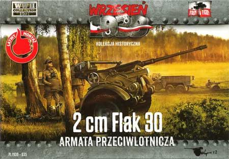 ドイツ 2cm Flak30 対空機関砲プラモデル(FTF1/72 AFVNo.PL1939-035)商品画像