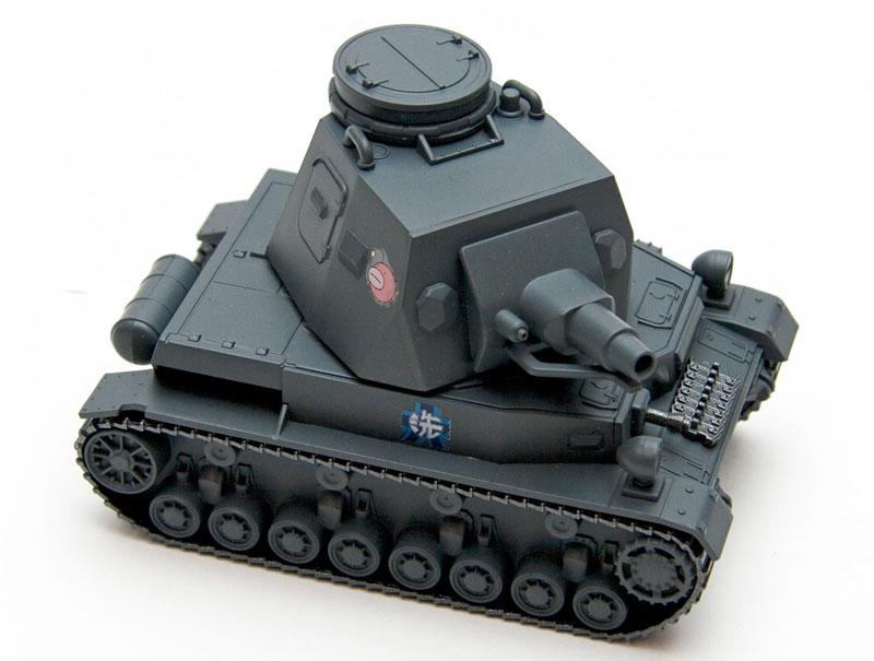 ドイツ 4号戦車 D型プラモデル(エブロガールズ&パンツァー 3DパズルNo.30001)商品画像_2