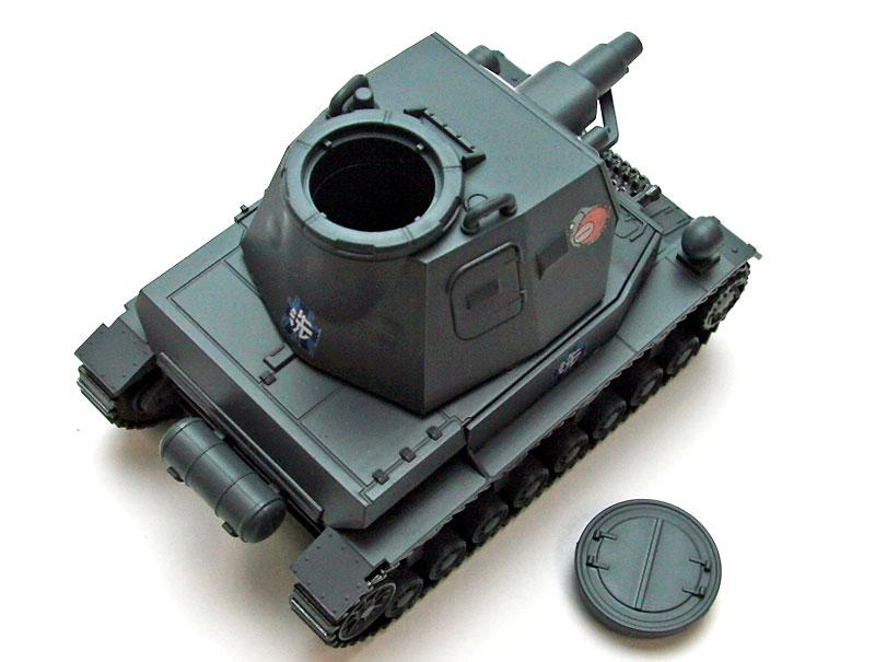 ドイツ 4号戦車 D型プラモデル(エブロガールズ&パンツァー 3DパズルNo.30001)商品画像_3