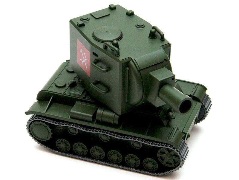 ソ連 KV-2プラモデル(エブロガールズ&パンツァー 3DパズルNo.30002)商品画像_2