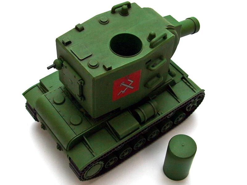 ソ連 KV-2プラモデル(エブロガールズ&パンツァー 3DパズルNo.30002)商品画像_3
