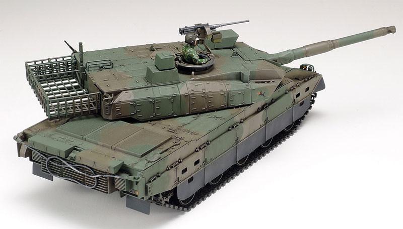 陸上自衛隊 10式戦車プラモデル(タミヤ1/48 ミリタリーミニチュアシリーズNo.088)商品画像_3