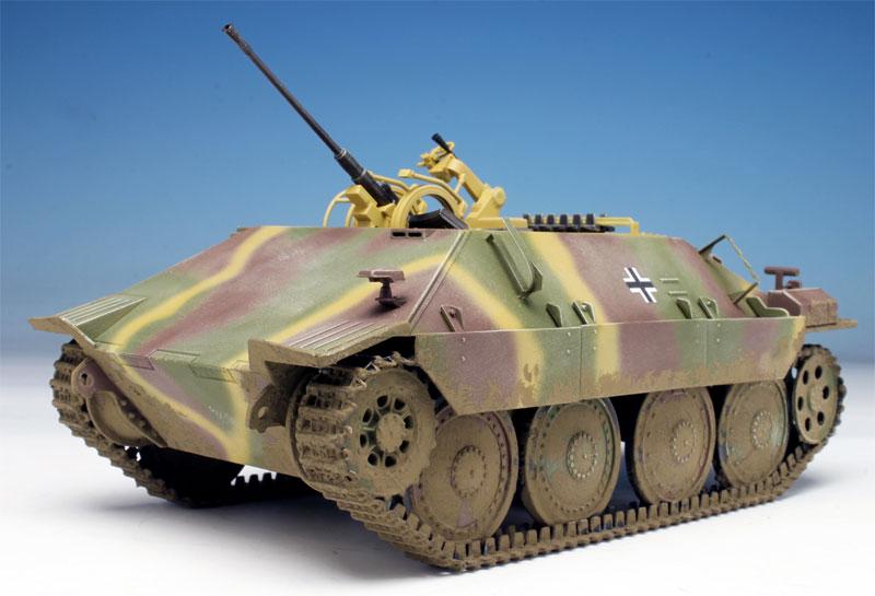 ドイツ ベルゲパンツァー 38(t) ヘッツァー 2cm Flak38搭載型プラモデル(ドラゴン1/35 '39-'45 SeriesNo.6399)商品画像_2