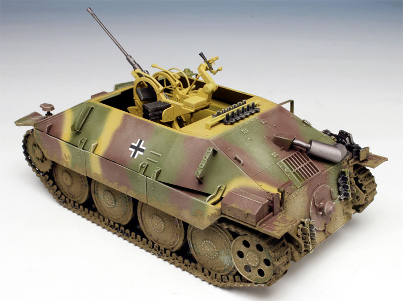 ドイツ ベルゲパンツァー 38(t) ヘッツァー 2cm Flak38搭載型プラモデル(ドラゴン1/35 '39-'45 SeriesNo.6399)商品画像_3