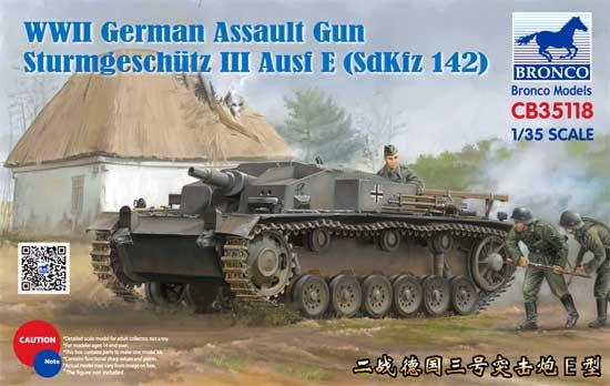 ドイツ 3号突撃砲 E型 (Sd.Kfz.142)プラモデル(ブロンコモデル1/35 AFVモデルNo.CB35118)商品画像