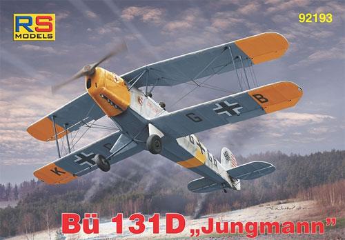 ビュッカー Bu131D ユングマンプラモデル(RSモデル1/72 エアクラフト プラモデルNo.92193)商品画像