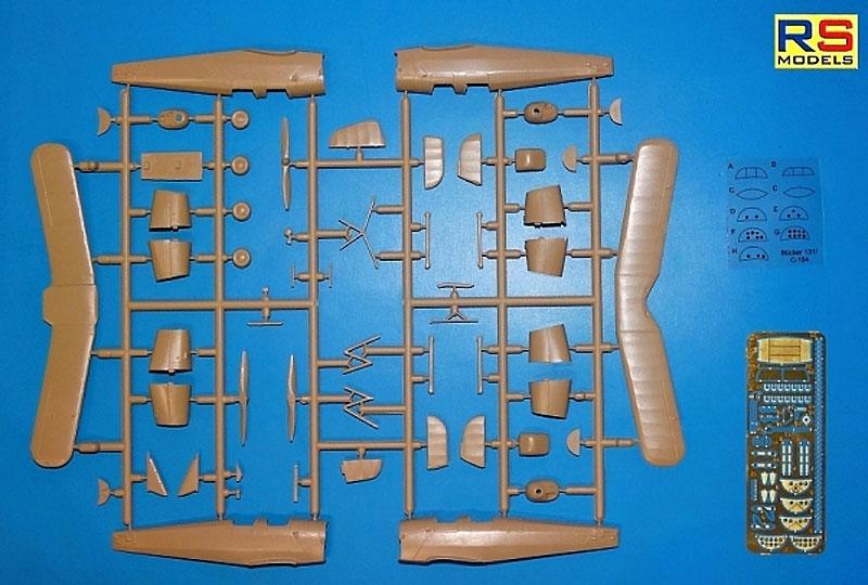 ビュッカー Bu131D ユングマンプラモデル(RSモデル1/72 エアクラフト プラモデルNo.92193)商品画像_2