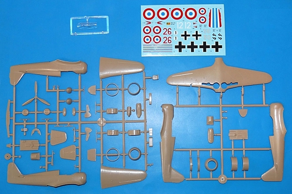 ブロック MB-155プラモデル(RSモデル1/72 エアクラフト プラモデルNo.92199)商品画像_1