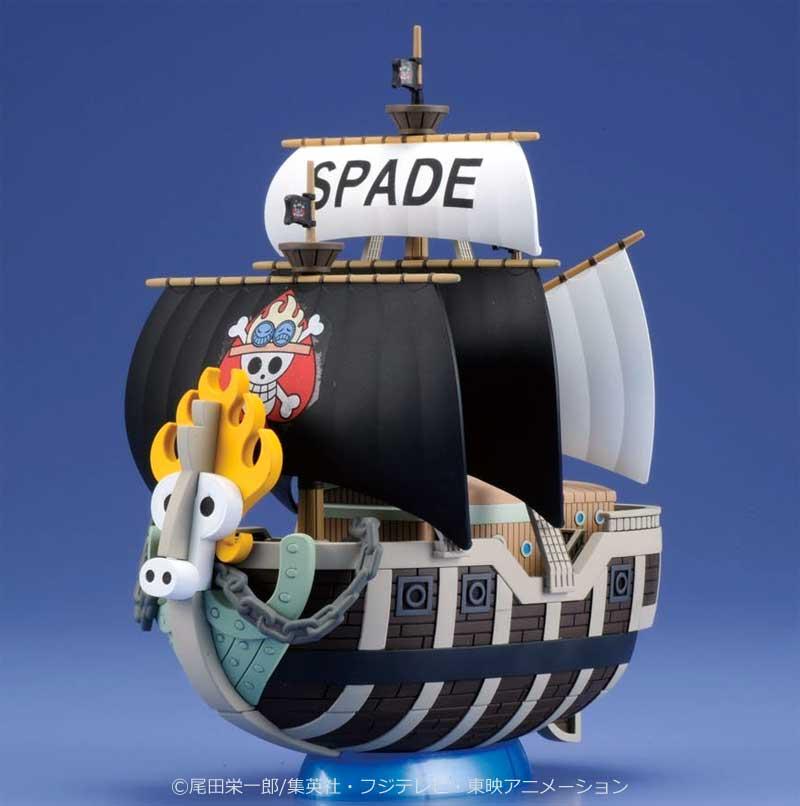 スペード海賊団の海賊船プラモデル(バンダイワンピース 偉大なる船(グランドシップ)コレクションNo.012)商品画像_1