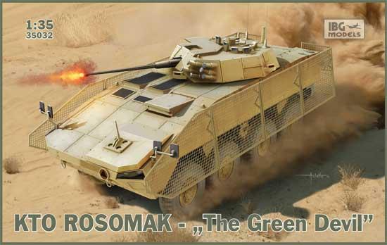 KTO ロソマク 装輪装甲車 グリーンデビルプラモデル(IBG1/35 AFVモデルNo.35032)商品画像
