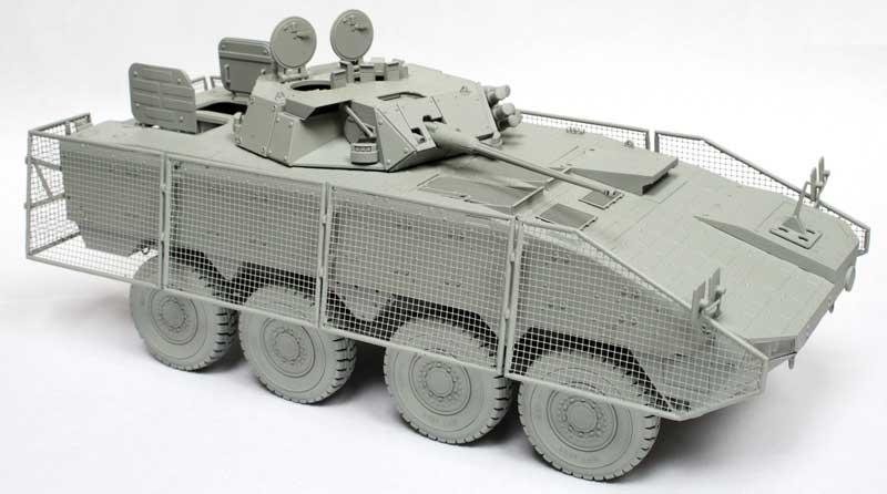 KTO ロソマク 装輪装甲車 グリーンデビルプラモデル(IBG1/35 AFVモデルNo.35032)商品画像_2