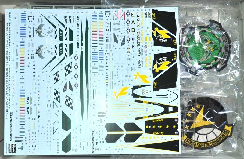 F/A-18E スーパーホーネット USS ロナルド レーガン CVW-5 CAG スペシャルパック Part 2プラモデル(ハセガワ1/72 飛行機 限定生産No.SP343)商品画像_1