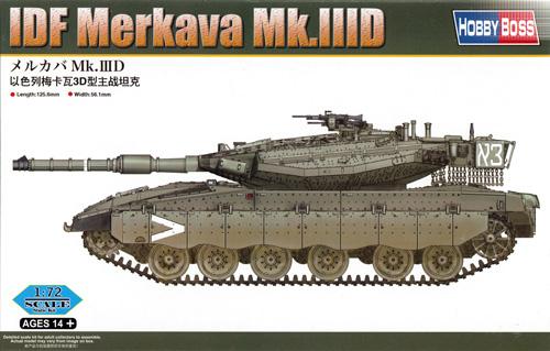 メルカバ Mk.3Dプラモデル(ホビーボス1/72 ファイティングビークル シリーズNo.82916)商品画像