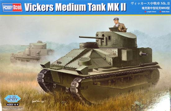 ヴィッカース 中戦車 Mk.2プラモデル(ホビーボス1/35 ファイティングビークル シリーズNo.83879)商品画像