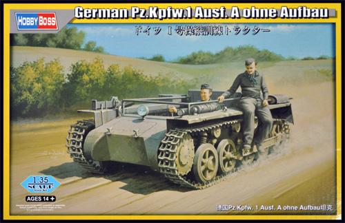 ドイツ 1号 操縦訓練 トラクタープラモデル(ホビーボス1/35 ファイティングビークル シリーズNo.80144)商品画像