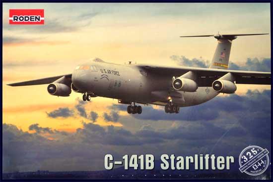 ロッキード C-141B スターリフター 戦略輸送機プラモデル(ローデン1/144 エアクラフトNo.325)商品画像