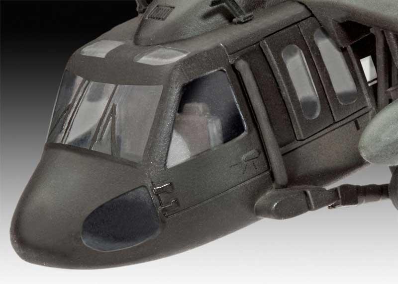 UH-60A ブラックホークプラモデル(レベルプラスチックモデルNo.04984)商品画像_2