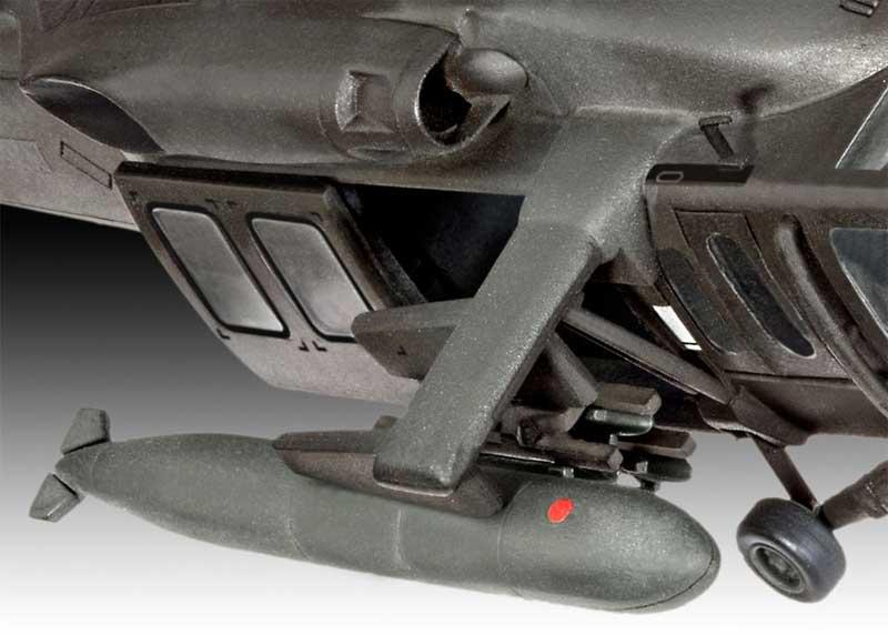 UH-60A ブラックホークプラモデル(レベルプラスチックモデルNo.04984)商品画像_3