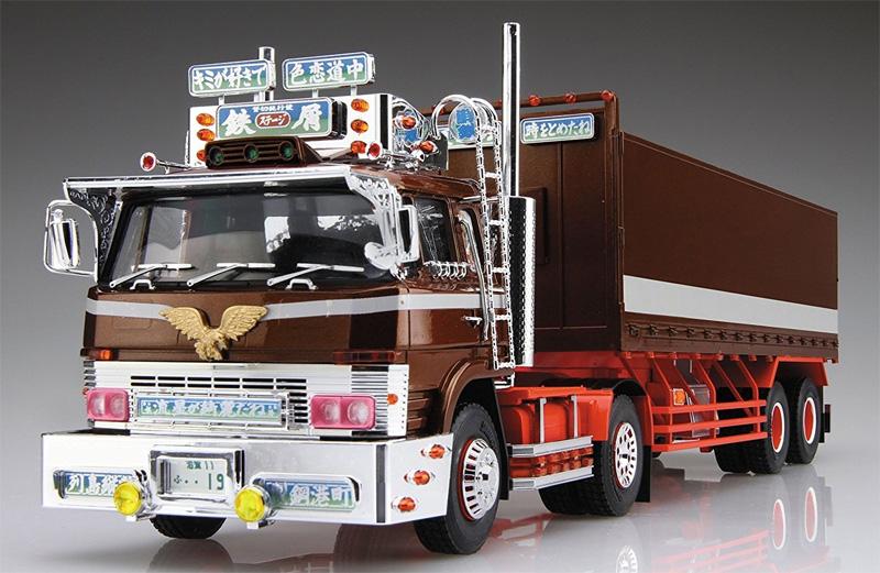 鉄屑のステージ (平箱トレーラー)プラモデル(アオシマ1/32 バリューデコトラ シリーズNo.041)商品画像_2