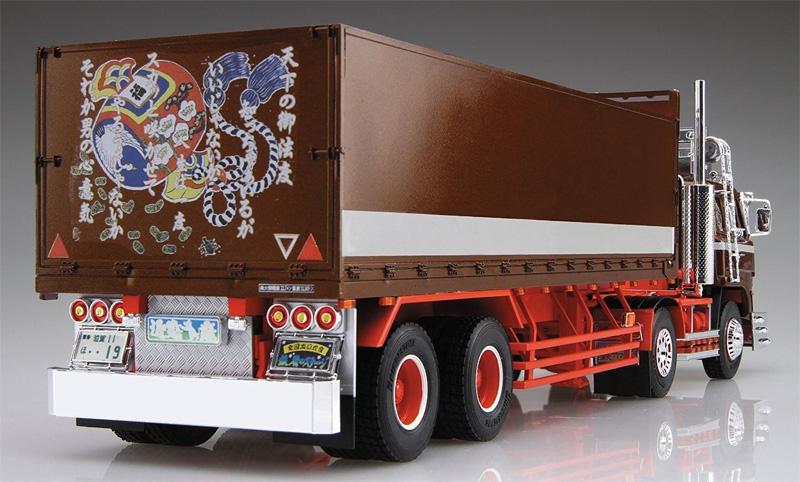 鉄屑のステージ (平箱トレーラー)プラモデル(アオシマ1/32 バリューデコトラ シリーズNo.041)商品画像_3