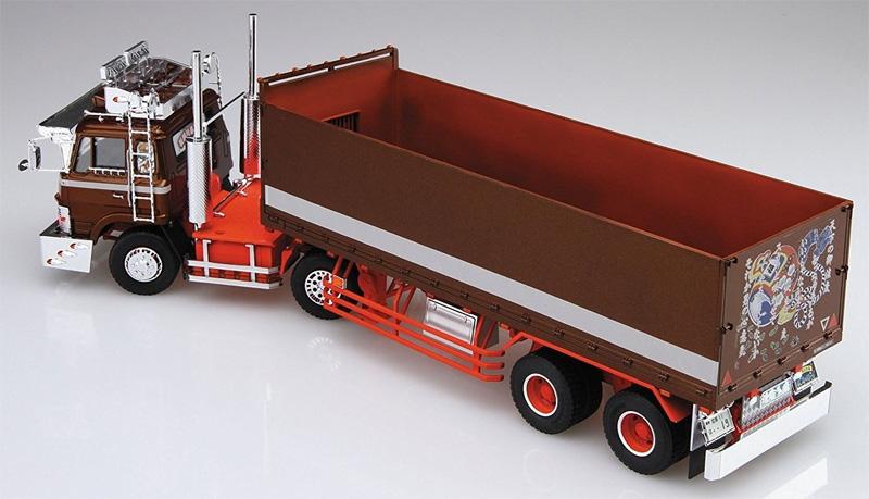 鉄屑のステージ (平箱トレーラー)プラモデル(アオシマ1/32 バリューデコトラ シリーズNo.041)商品画像_4
