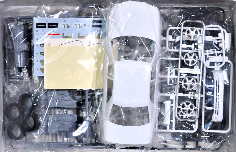 トヨタ JZX100 チェイサー ツアラーV '98プラモデル(アオシマ1/24 ザ・モデルカーNo.旧016)商品画像_1