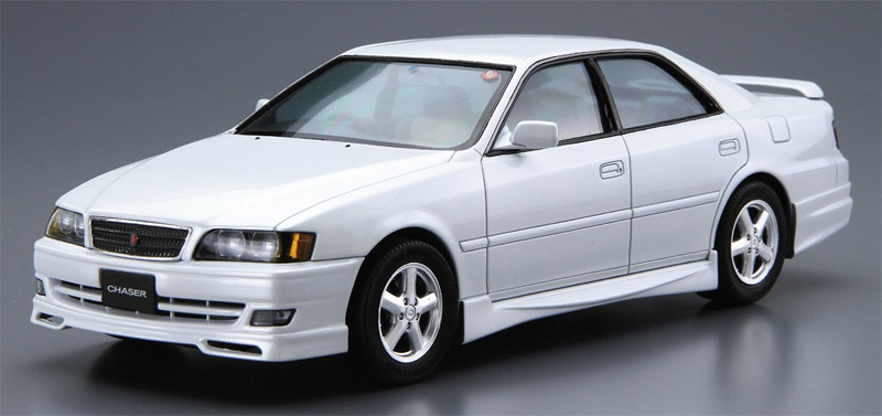 トヨタ JZX100 チェイサー ツアラーV '98プラモデル(アオシマ1/24 ザ・モデルカーNo.旧016)商品画像_2